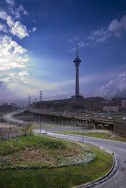 برج میلاد در ویکی پدیا