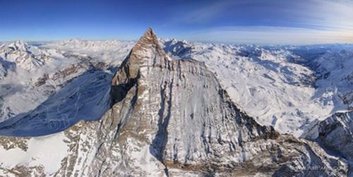 کوهستان ماترهورن در سوئیس